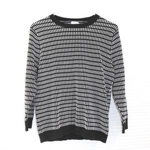J. Crew 3/4 sleeve sweater